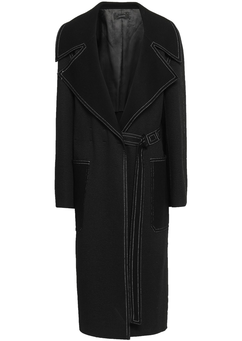 Joseph Woman Cashmere-felt Coat Black