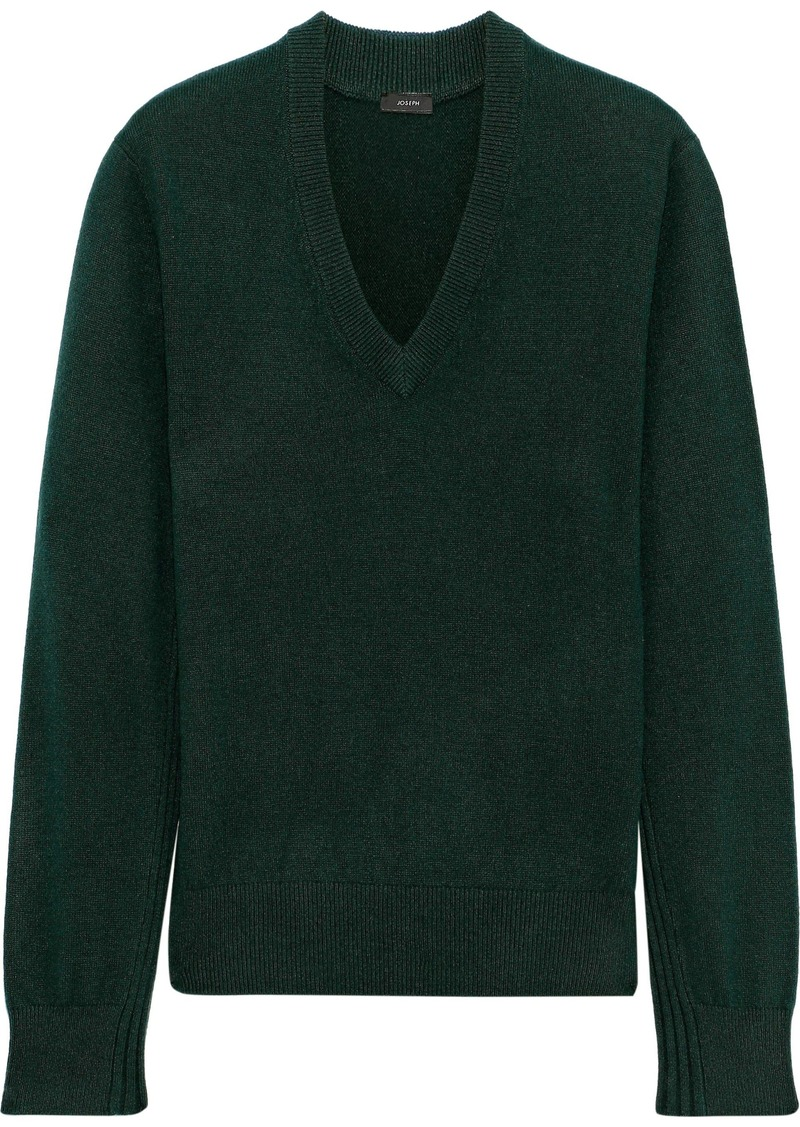 Joseph Woman Cashmere Sweater Dark Green
