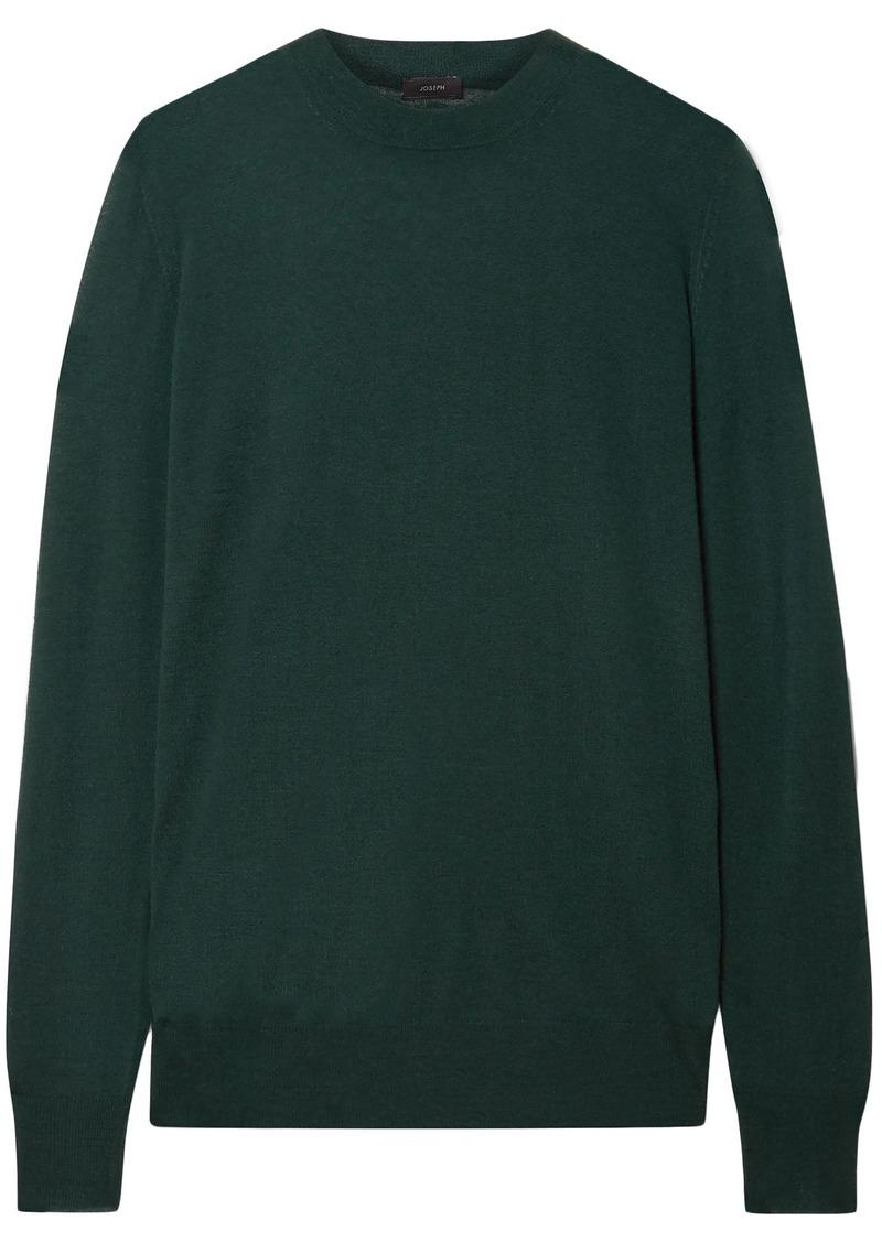 Joseph Woman Cashmere Sweater Forest Green