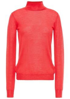 Joseph Woman Cashmere Turtleneck Sweater Papaya
