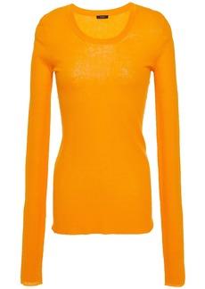 Joseph Woman Cotton-blend Sweater Bright Orange