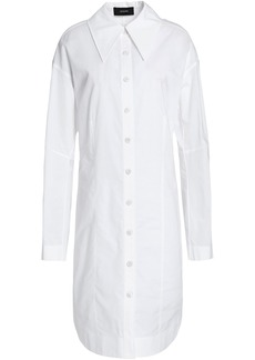 Joseph Woman Cotton-poplin Shirt Dress White