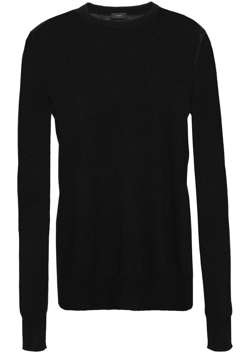 Joseph Woman Cutout Cashmere Sweater Black