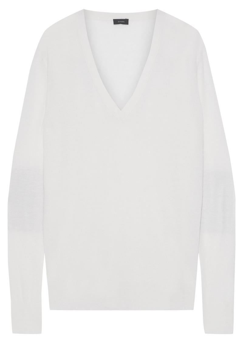 Joseph Woman Cashmere Sweater Ivory