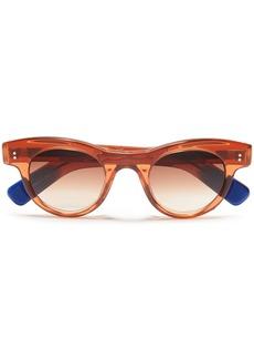 Joseph Woman D-frame Acetate Sunglasses Light Brown