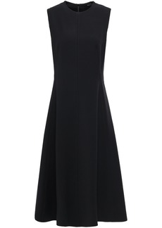 Joseph Woman Fulton Flared Cady Midi Dress Black