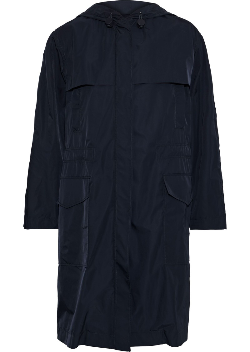Joseph Woman Horton Shell Hooded Coat Navy