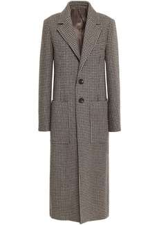 Joseph Woman Houndstooth Woven Coat Sand