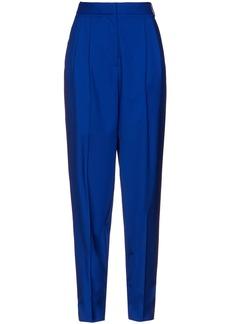 Joseph Woman Klein Wool Tapered Pants Royal Blue
