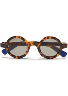 Joseph Woman Round-frame Tortoiseshell Acetate Sunglasses Light Brown