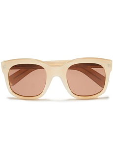 Joseph Woman Square-frame Acetate Sunglasses Ecru
