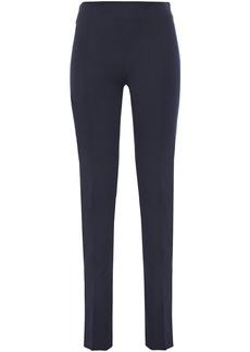 Joseph Woman Twill Slim-leg Pants Navy