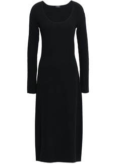 Joseph Woman Wool-blend Midi Dress Black