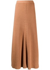 Joseph knitted maxi skirt