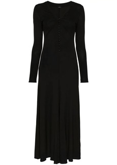 Joseph Marlene button-down maxi dress