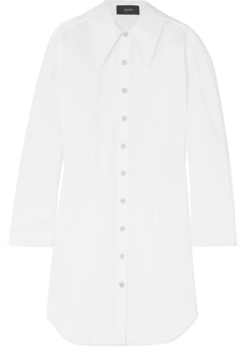 Joseph Ruben Cotton Poplin Shirt Dress Dresses