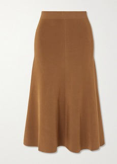 Joseph Stretch-knit Midi Skirt
