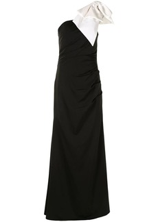 Jovani one-shoulder maxi gown