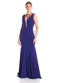 Jovani Women's Sleeveless Jersey Dress