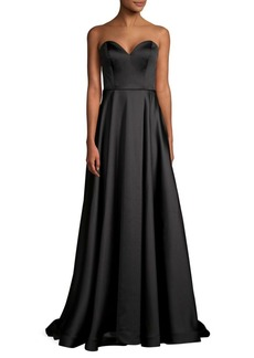Jovani Strapless Sweetheart Gown