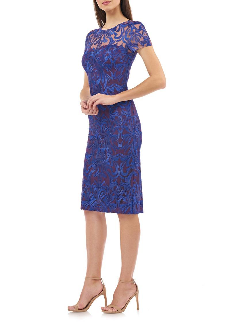JS Collections Lace Cocktail Dress