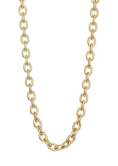 Judith Leiber 14K Goldplated Base Rolo Necklace