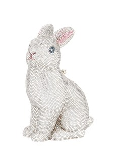 Judith Leiber Ava Bunny Crystal Clutch Bag
