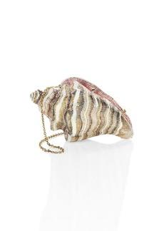 Judith Leiber Conch Shell Crystal Clutch