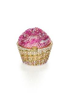 Judith Leiber Cupcake Crystal Pillbox
