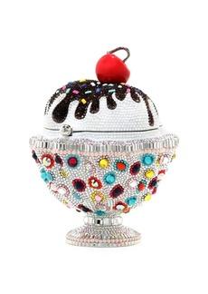 Judith Leiber Ice Cream Sundae Sprinkles Crystal Clutch