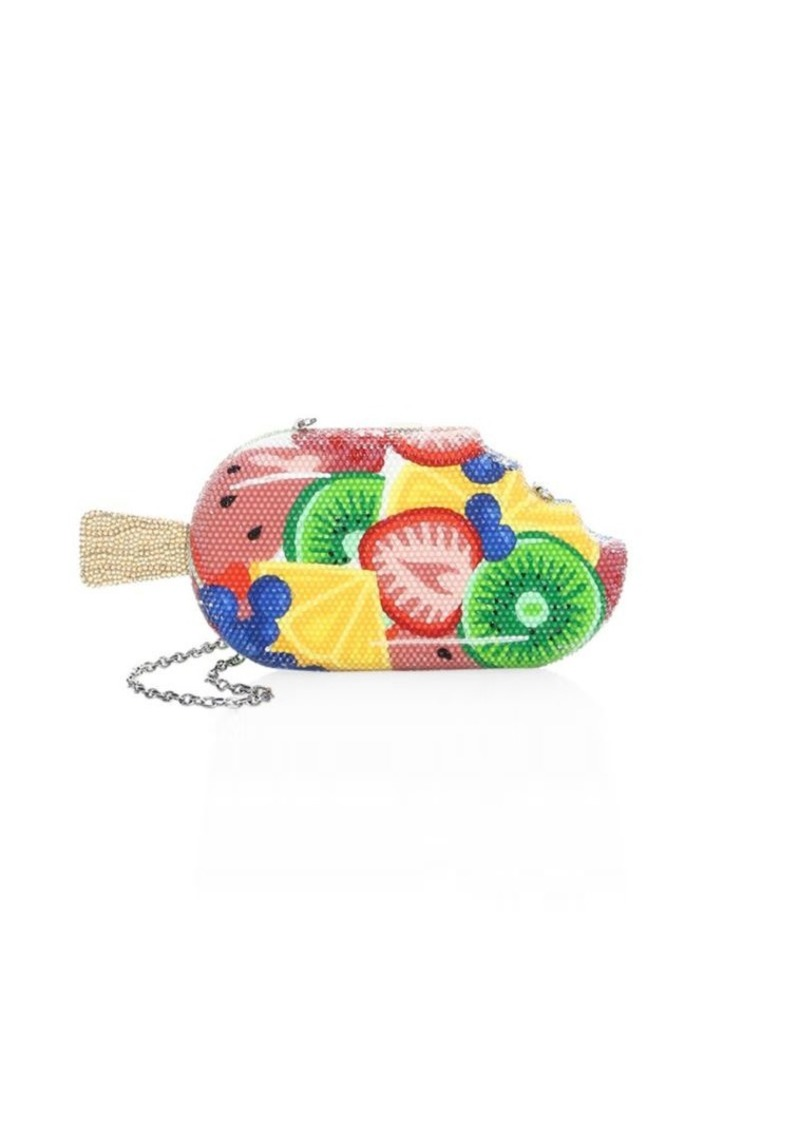 Judith Leiber Frozen Fruit Popsicle Crystal Clutch