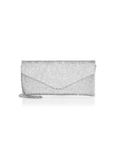 Judith Leiber Envelope Crystal Clutch