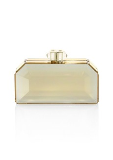 Judith Leiber Faceted Box Clutch