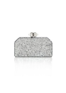 Judith Leiber Faceted Paillette Clutch