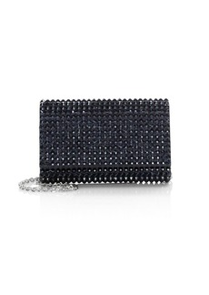 Judith Leiber Fizzoni Bling Crystal Clutch