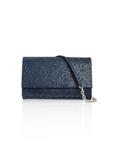 Judith Leiber Fizzoni Full-Beaded Clutch Bag