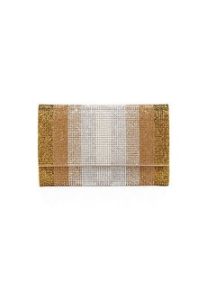 Judith Leiber Fizzoni Stripes Crystal Crossbody Bag