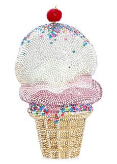 Judith Leiber Ice Cream Scoops Crystal Clutch