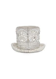 Judith Leiber Abracadabra Crystal Top Hat Minaudiere