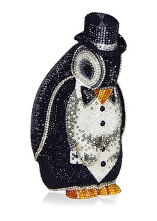 Judith Leiber Alfred Penguin Evening Clutch Bag