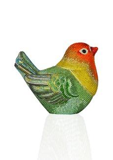 Judith Leiber Bird Crystal Minaudiere Clutch Bag