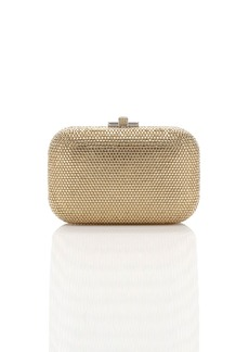 Judith Leiber Crystal Slide-Lock Clutch Bag