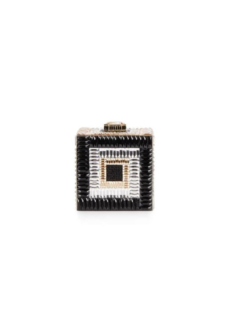 971d3e164a005 Judith Leiber Judith Leiber Couture Cube Austrian Crystal Clutch ...