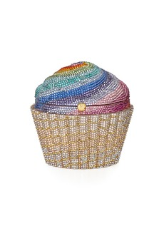 Judith Leiber Cupcake Rainbow Clutch Bag