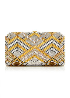 Judith Leiber Couture Gaia Swanson Crystal Clutch