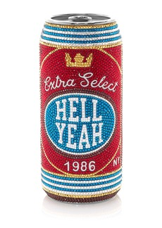 Judith Leiber Couture Hell Yeah Beverage Can Pill Box