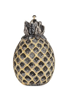 Judith Leiber Hilo Pineapple Crystal Clutch Bag