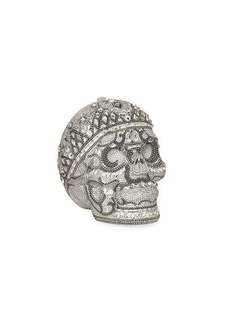 Judith Leiber Katerina Crystal Skull Clutch Bag