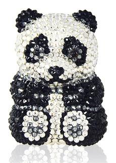 Judith Leiber Ling Panda Pillbox