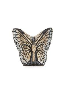 Judith Leiber Monarch Crystal-Studded Butterfly Clutch Bag